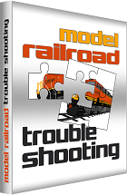 model railroad trouble shooting book